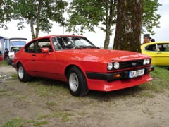 Ford Capri 2.8 Turbo, Chiemsee, 9. August 2008