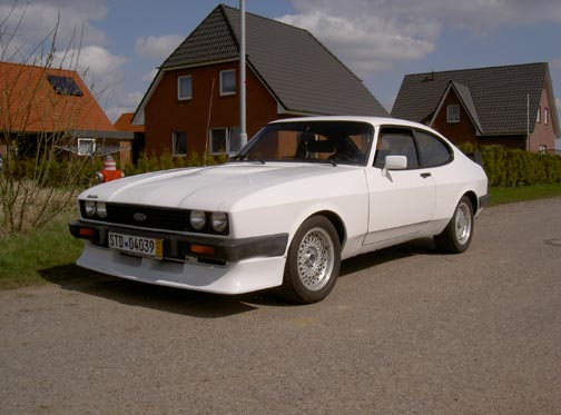 Ford Capri 2.8 Turbo, Chassis No. BA14120