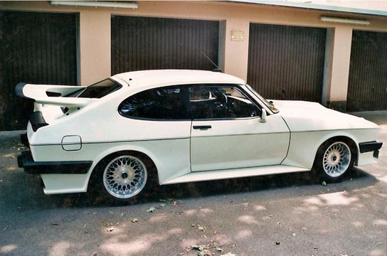 Ford Capri 2.8 Turbo, Chassis No. BA18198