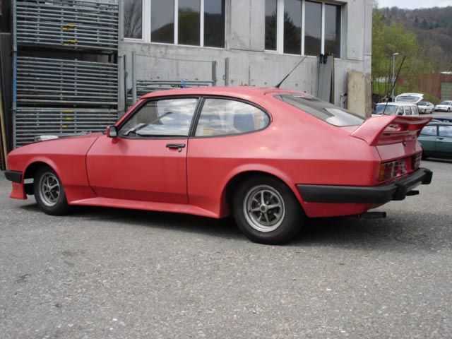 Ford Capri 2.8 Turbo, Chassis No. BC36089