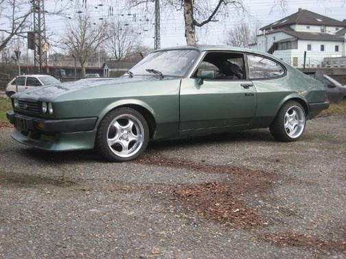 Ford Capri 2.8 Turbo, Chassis No. CB77968