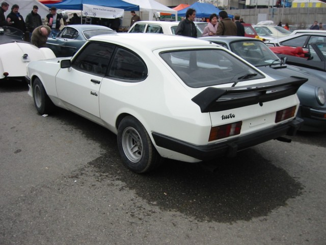 Ford Capri 2.8 Turbo, Chassis No. CJ22856