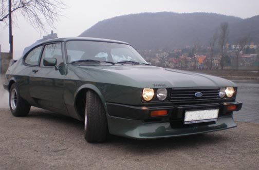 Ford Capri 2.8 Turbo, Chassis No. CJ22867