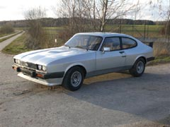Ford Capri 2.8 Turbo, Chassis No. CS68151