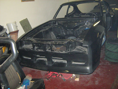Ford Capri 2.8 Turbo, Chassis No. CS72737