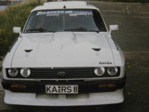 Ford Capri 2.8 Turbo CS72738