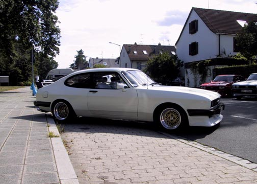 Ford Capri 2.8 Turbo, Chassis No. CS79440