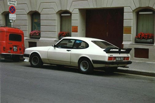 Ford Capri 2.8 Turbo, Chassis No. CT84101