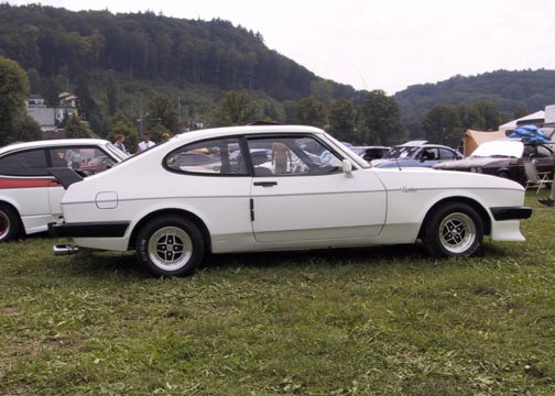 Ford Capri 2.8 Turbo, Chassis No. CT87981