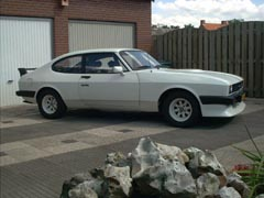 Ford Capri 2.8 Turbo, Chassis No. CT87987