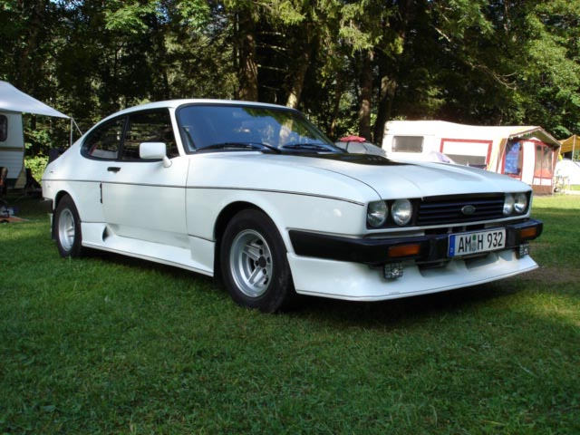 Ford Capri 2.8 Turbo, Chassis No. CU62390