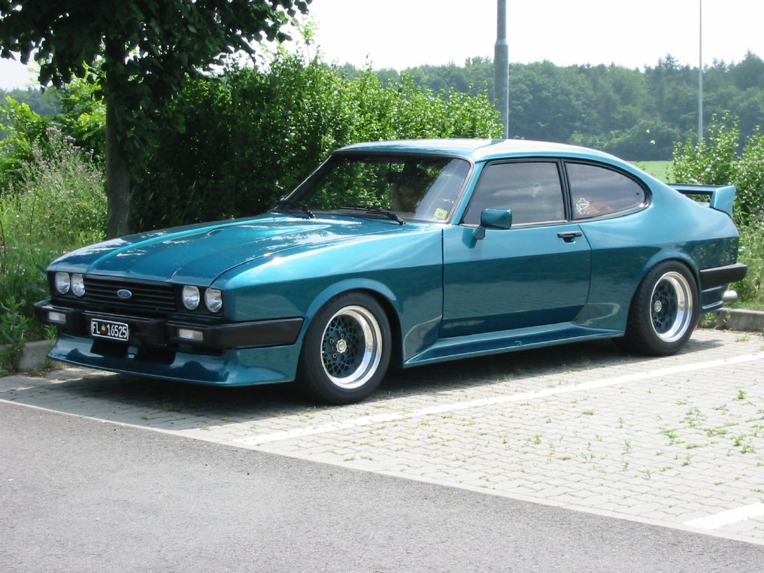 Ford Capri 2.8 Turbo, Chassis No. CY46828